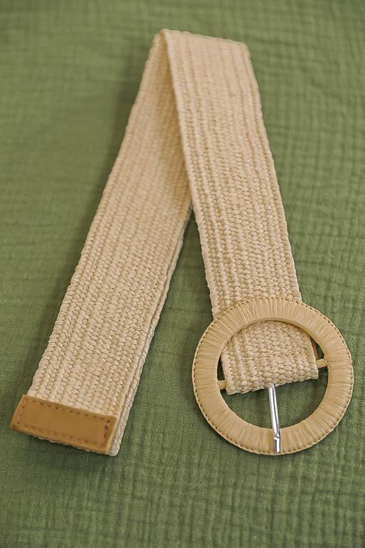Belt - Light Natural/Style 1
