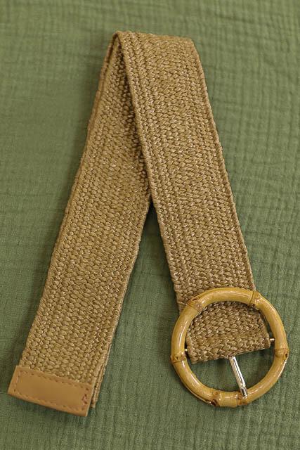 Belt - Dark Natural/Style 4