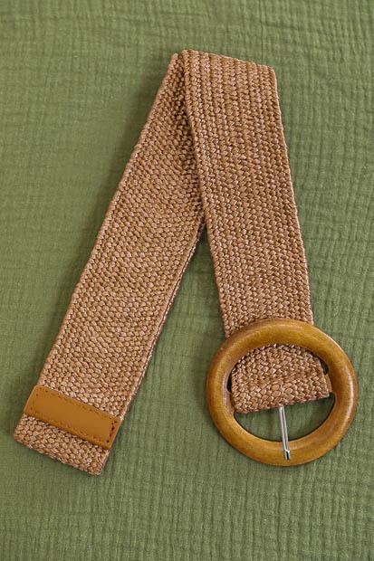Belt - Nutmeg Brown/Style 3