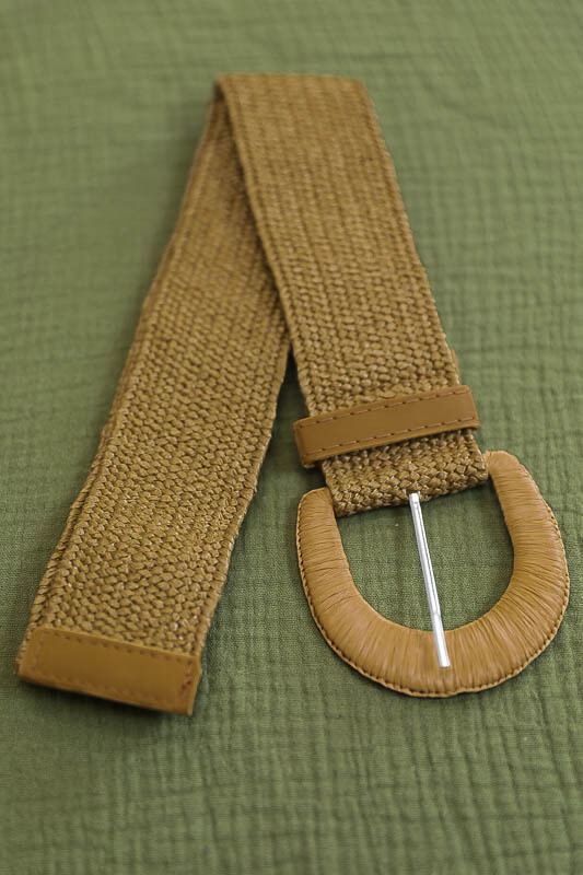 Belt - Dark Natural/Style 2