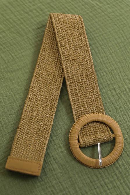 Belt - Dark Natural/Style 1