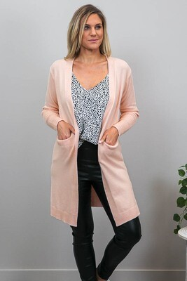 Billy GoGo Luxe Cardigan - Blush