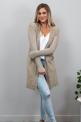 Billy GoGo Luxe Cardigan - Mocha