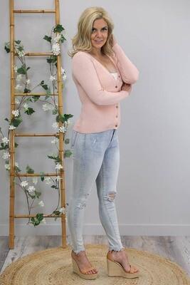 Camilla Cardigan - Blush