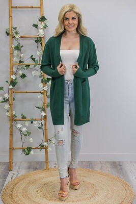 Billy GoGo Luxe Cardigan - Emerald Green