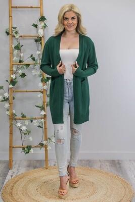 Billy GoGo Luxe Cardigan - Emerald Green