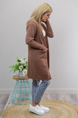 Billy GoGo Luxe Cardigan - Hot Chocolate