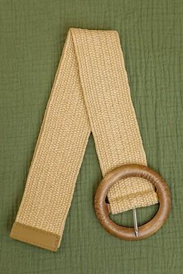 Belt - Light Natural/Style 3