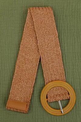 Belt -  Nutmeg Brown/Style 11