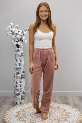 Missy Fluff Lounge Pants - Blush