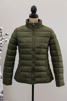 Maddi Puffer Jacket - Khaki