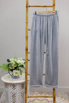 Missy Fluff Lounge Pants - Blue