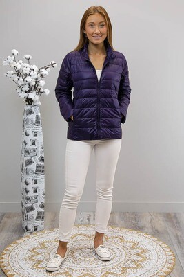 Coyote Compact Puffer Jacket - Navy Blue