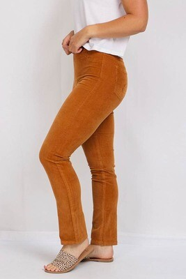 Cameron Cord Pants - Rust