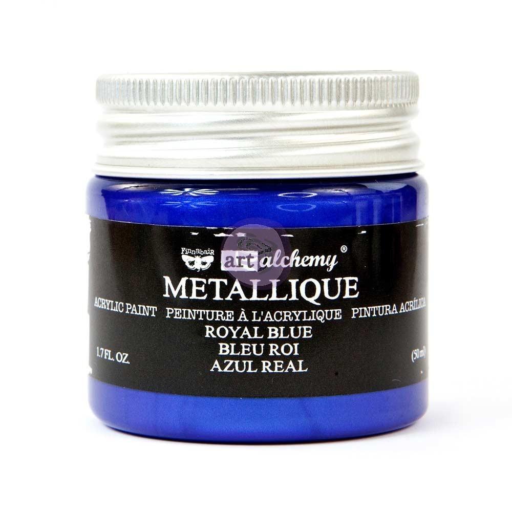 Royal Blue - Metallique Acrylic Paint - Prima Art Alchemy