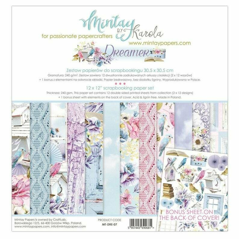 Mintay by Karola - Dreamer - 12 x 12 Collection Pack