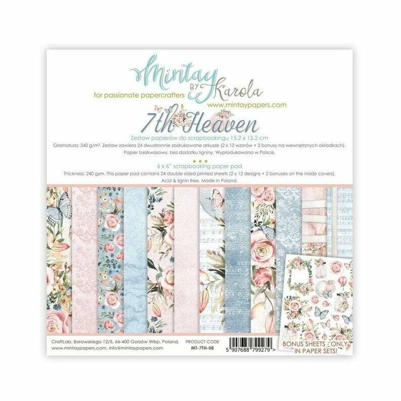 LIMITED STOCK Mintay by Karola - 7th Heaven - 6 x 6 Collection Pack