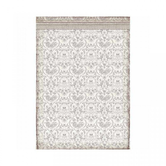 Framed Wallpaper - A3 -Stamperia Rice Paper