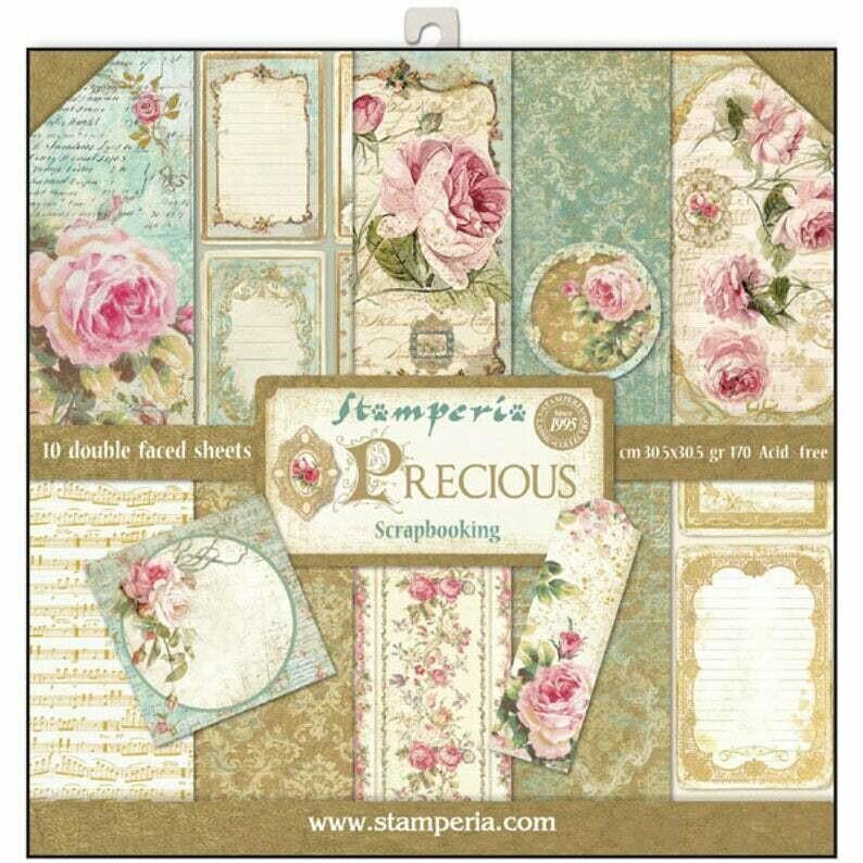 Stamperia Precious Gift - 12 x 12 Paper Pad