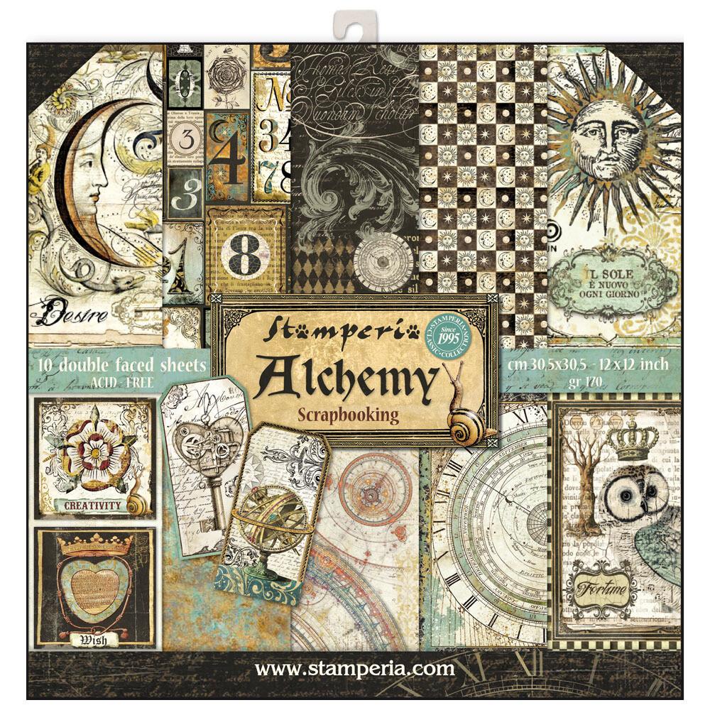 Stamperia Alchemy - 12 x 12 Paper Pad