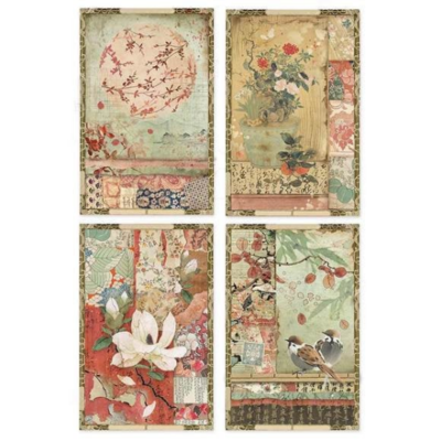 Oriental Garden Collection A4 -Stamperia