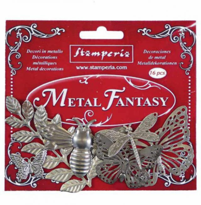 Nature - Metal Fantasy Selection -Stamperia Embellishments