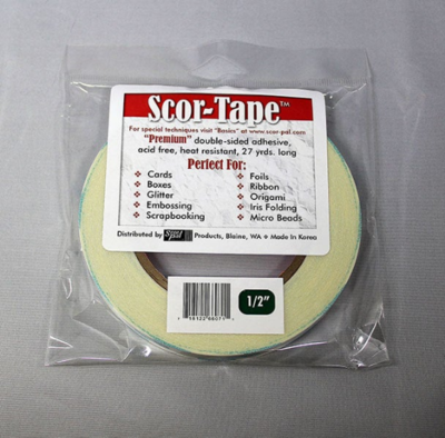 "Scor-tape 1/2"" - Double Sided Tape"