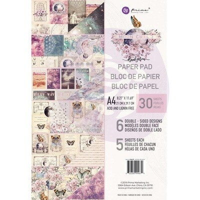Moon Child A4 Paper Pad - Prima Marketing