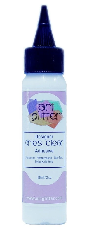 Designer Dries Clear Adhesive - Art Glitter