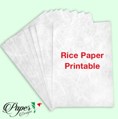 Printable Rice Paper - A4 -Paper Designs
