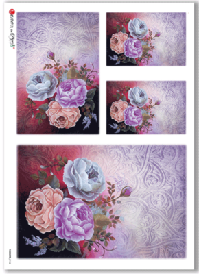 Flowers - 0156 - A4 Rice Paper - Paper Designs