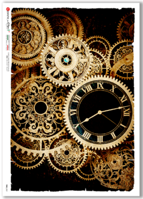 Time-0021 - A4 Rice Paper - Paper Designs