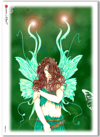 Fairies-0024 - A4 Rice Paper - Paper Designs