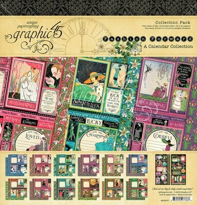 Fashion Forward Collection - 12x12 Collection Pack w/ Stickers - Graphic 45