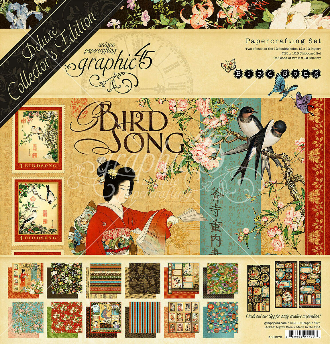 Bird Song - Deluxe Collector's Edition - Graphic 45