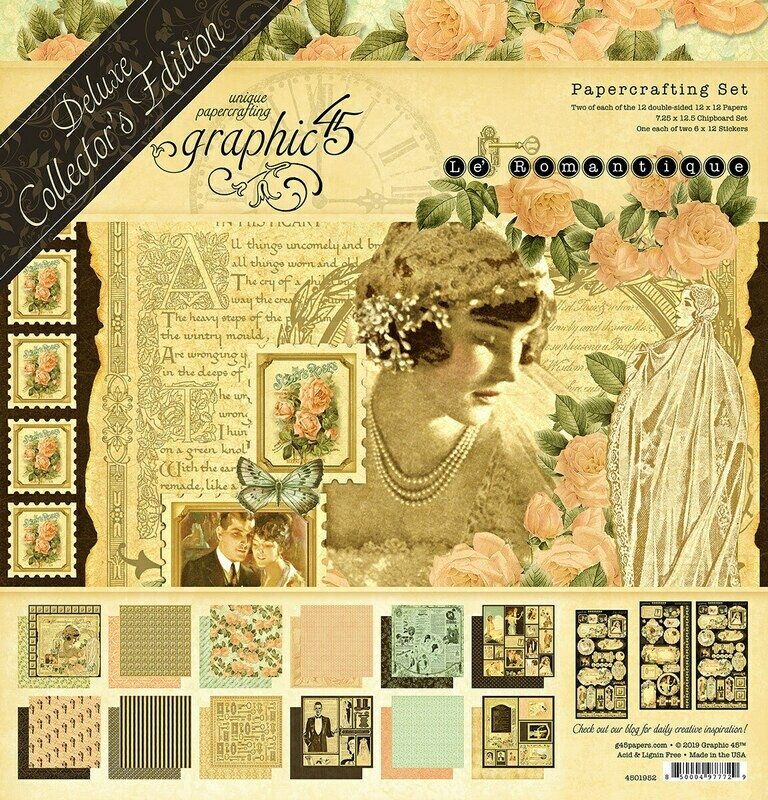 Le Romantique - Deluxe Collector's Edition - Graphic 45