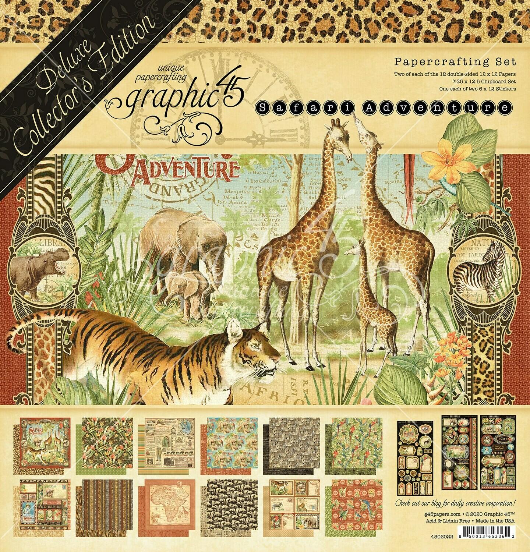 Safari Adventure - Deluxe Collector's Edition - Graphic 45