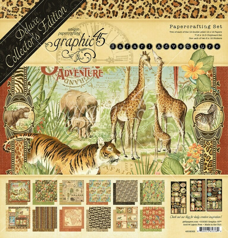Safari Adventure - Deluxe Collector's Edition - Graphic 45