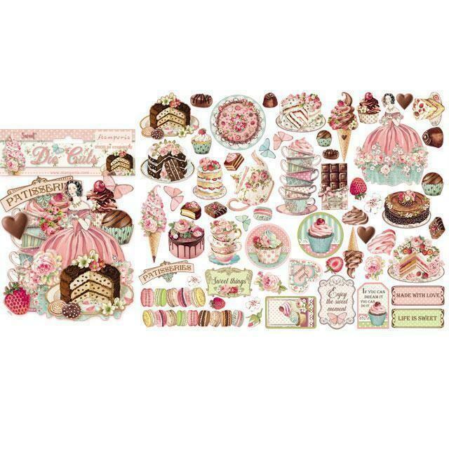 Sweety Assorted Die Cuts - Stamperia