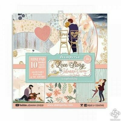 Love Story 8x8 Paper Pad - Stamperia