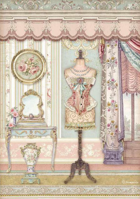 Mannequin - Princess Collection - A4 Rice Paper - Stamperia