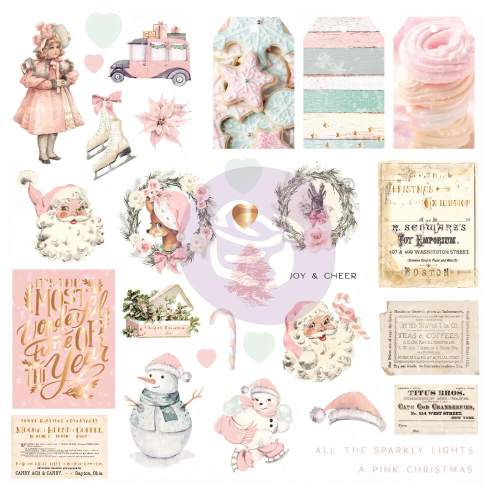 Ephemera 31pcs - Sugar Cookie Christmas - Prima Marketing