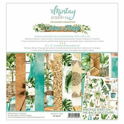 Urban Jungle 12x12 - Mintay by Karola