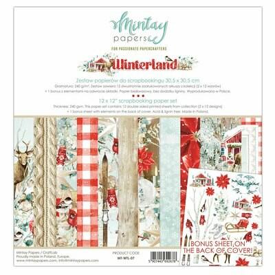 Winterland 12x12 - Mintay by Karola