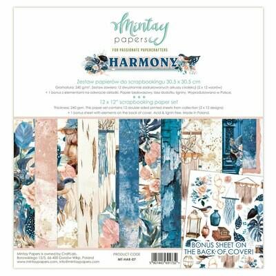 Harmony 12x12 - Mintay by Karola