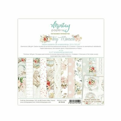 Tiny Miracle 6x6 - Mintay by Karola