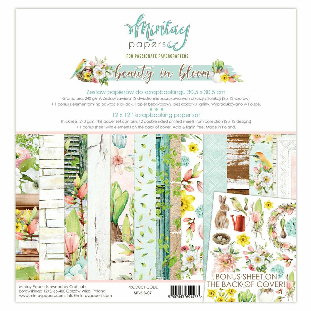 Beauty in Bloom 12x12 - Mintay by Karola