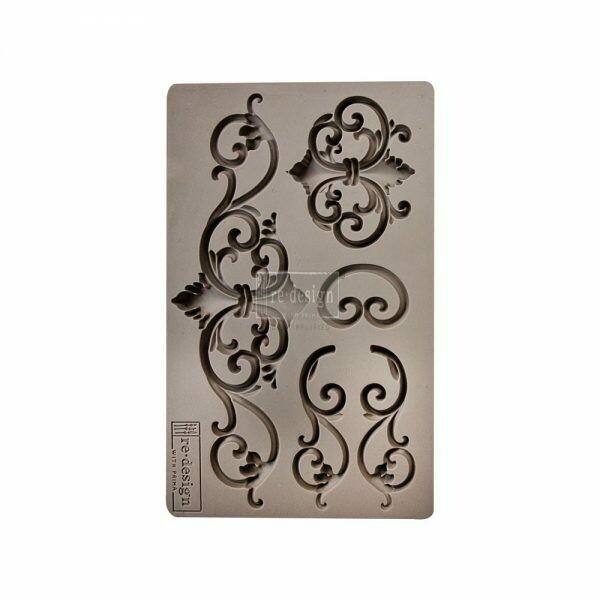 Tillden Flourish - Redesign Decor Moulds - Re-Design With Prima