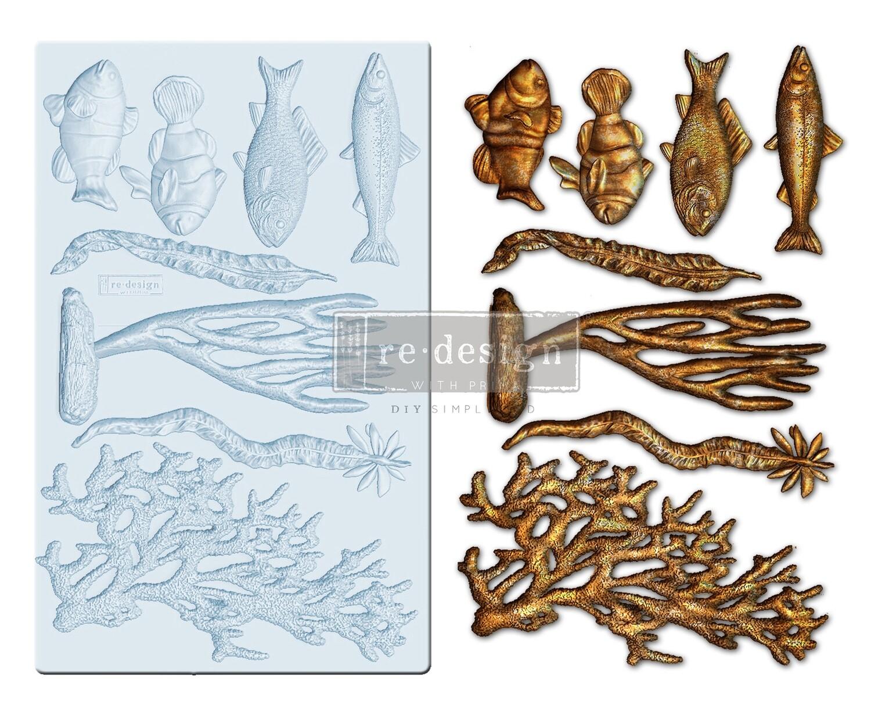 Coral Reef - Decor Mould - Re-Design With Prima