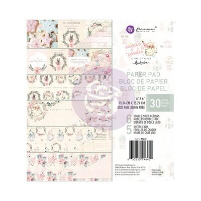 Sugar Cookie Christmas - 6x6 Paper Pad - Prima Marketing